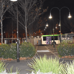 Park lighting electrical project at Box Hill park for City of White Horse